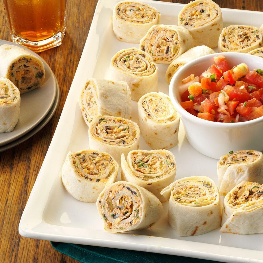 fiesta pinwheels from Taste of Home
